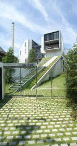 長屋建て集合住宅:東京