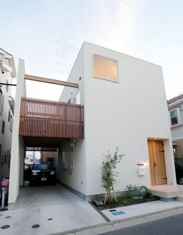 神奈川・横浜で建築家と建てるの狭小住宅