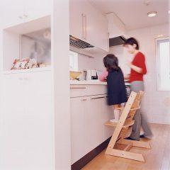 クローズドキッチンI型キッチン マンションリノベーション