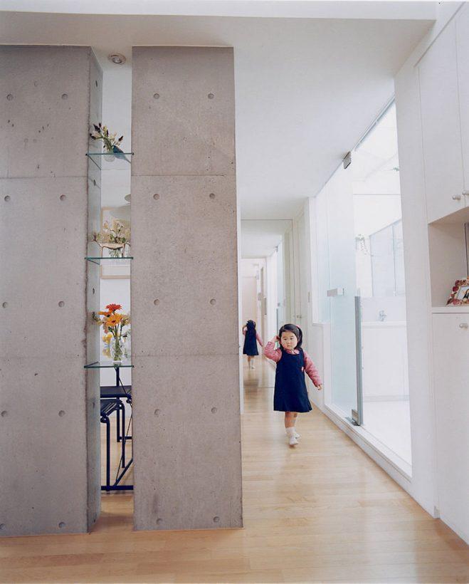 打ち放しコンクリート壁 マンションリノベーション
