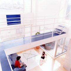blue house:杉並のコーポラティブ・ハウスマンション