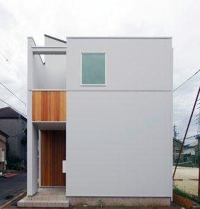 千葉県松戸の狭小ローコスト住宅
