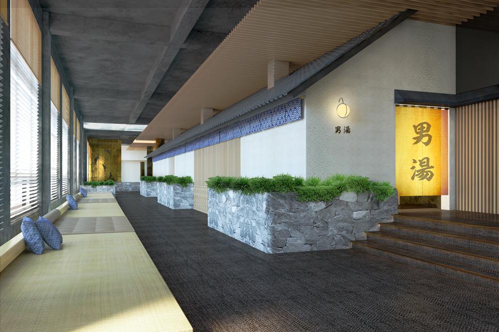 onsen hot spring resort