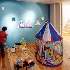 チョークボードペイント壁の子供部屋!