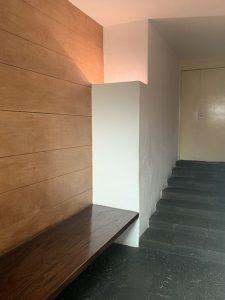 ルイスバラガン邸 玄関・間接照明