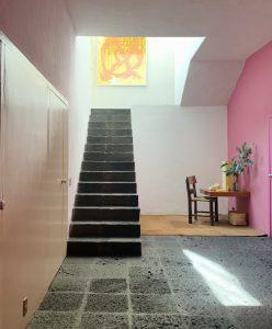 ルイスバラガン邸 階段室