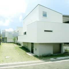 緑道の家:世田谷赤堤の住宅街区