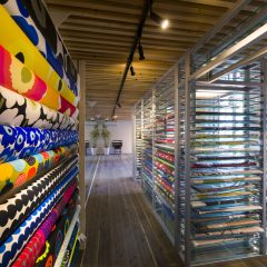 renovation fablic shop (marimekko shop)