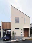 横浜の狭小デザイン住宅