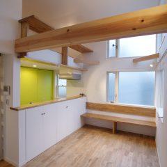 狭小地での建築計画は、断面計画が重要!