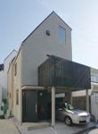 目黒の3階建て狭小住宅