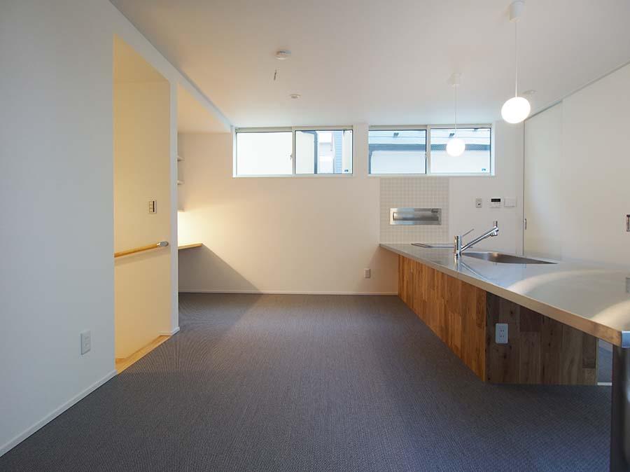 大田区の建築家・設計事務所と建てる狭小3階建て住宅2階リビング
