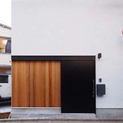 足立区の3階建て極狭小住宅