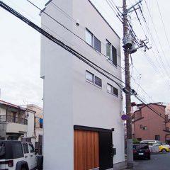 house-kwk:足立区の建坪4.7坪の超狭小住宅
