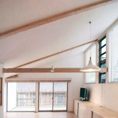 Nobori-house2:横浜の狭小ローコスト住宅