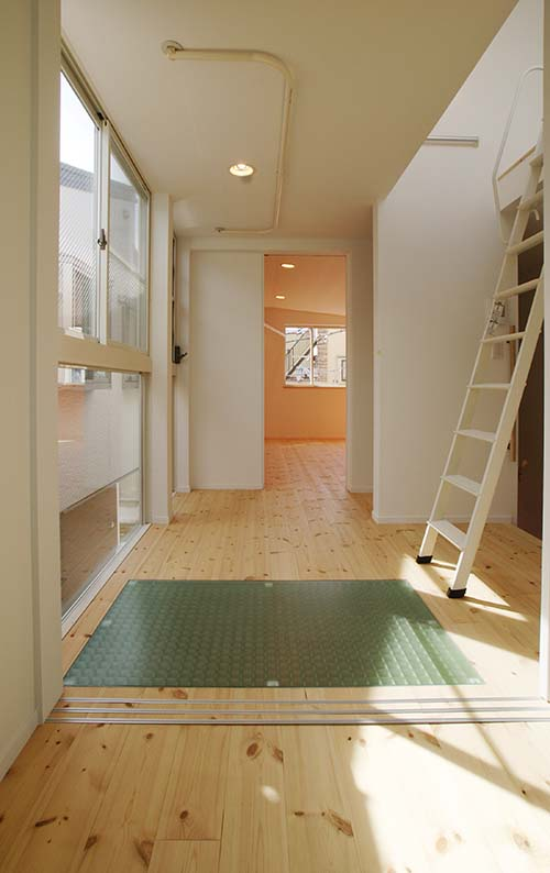 建築家と建てる世田谷区3階建てデザイン住宅