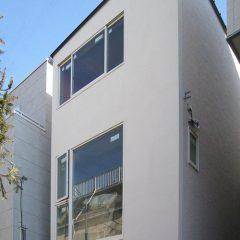 h-hrk:世田谷の3階建て狭小住宅