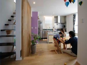 3階建て狭小デザイン住宅