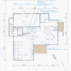 h-tkh:L型LDK・最強家事動線の家|間取り図