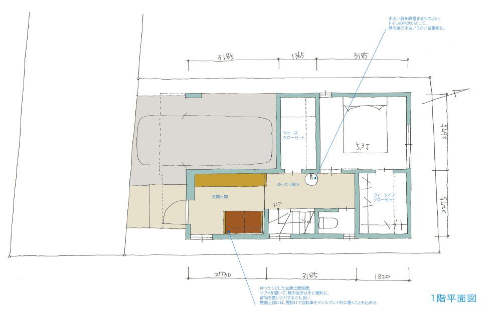 川崎の木造3階建て住宅