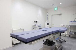 形成外科皮膚科クリニック手術室